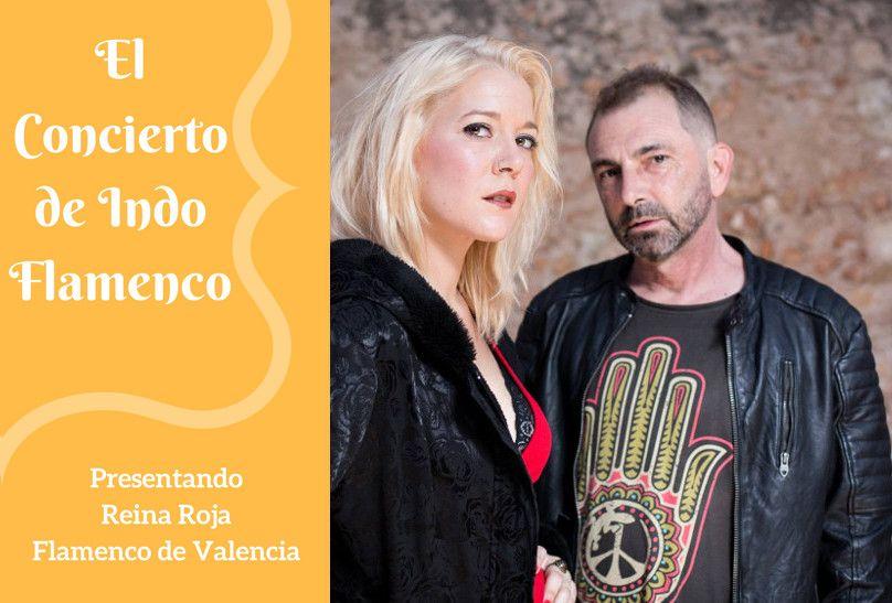 concierto indo flamenco - reina roja